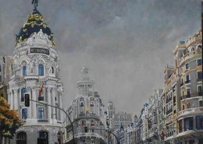 Grán Vía. Madrid  Autor: A. Visedo