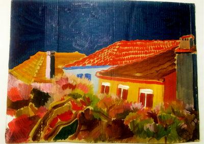 As casas  Autor:  Rafael José da Silva