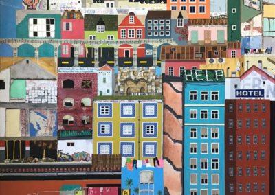"""…Y la ciudad era tu casa y tú te salías de ella""""Autor: Marta Urosa"""