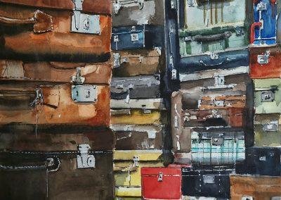 Abandonadas en El Rastro  Autor:  Jacques Villares Castillo